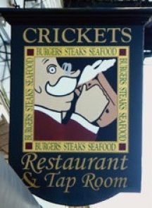 Crickets Restaurant & Tap Room