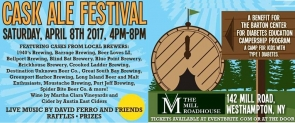 Cask Ale 2nd Annual Fundraiser, Mill Roadhouse -- held 4/8/17