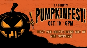TJ Finleys Pumpkinfest - held 10/19/19