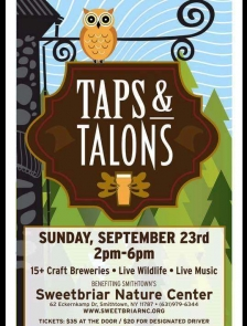 Taps and Talons Fundraiser - held 9/22/19